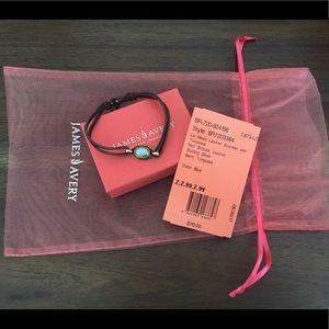 James Avery LaMesa Leather Bracelet(size L)